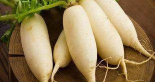 Trị tàn nhang bằng củ cải