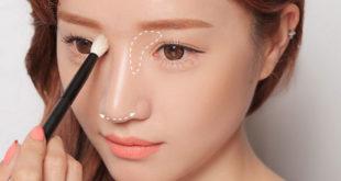 Cách trang điểm thu gọn cánh mũi