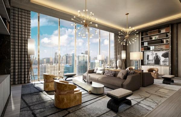 Tầm nhìn của căn hộ Penthouse