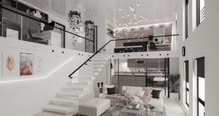 Gạch cho thiết kế nội thất Duplex
